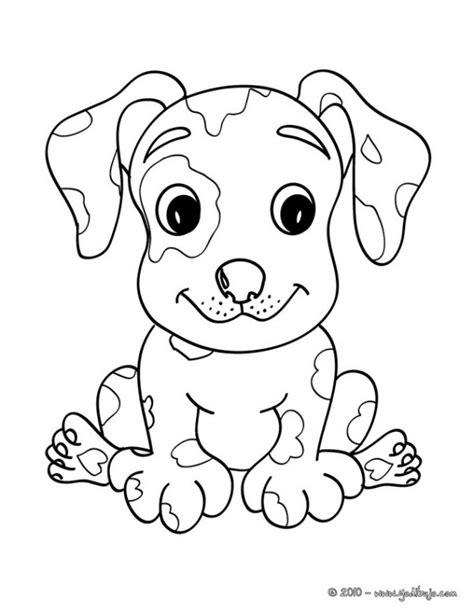 dibujos de perros cachorros  colorear colorear imagenes