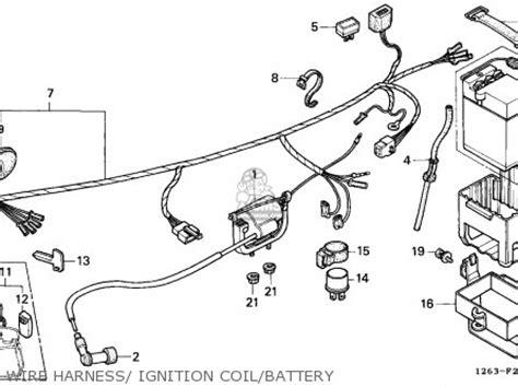 honda st70 dax 1989 k general export kph ms parts lists and schematics
