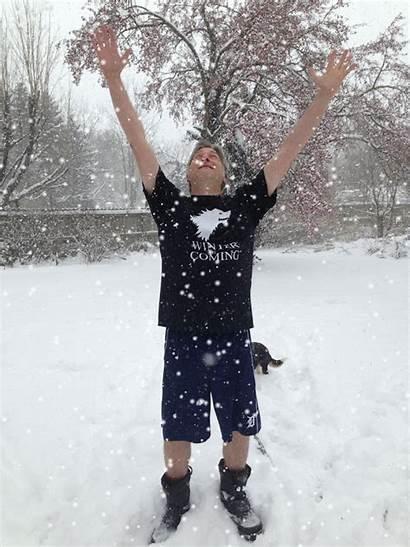 Winter Shirt Coming Snow Shirts York Sense