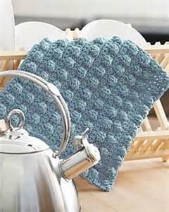 Sugar and Cream Crochet Dishcloth Patterns