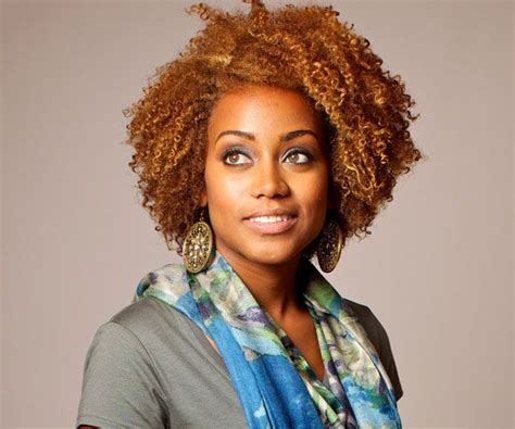 Natural Hairstyles For Black Women. Love Her Hair Color
