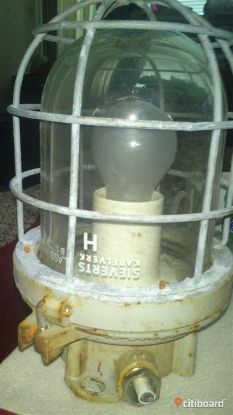 industridesign lampa sieverts kabelverk  tals retro