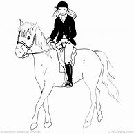 Coloriage Cheval Avec Cavaliere.High Quality Images For Coloriage Imprimer Cheval Avec Cavaliere