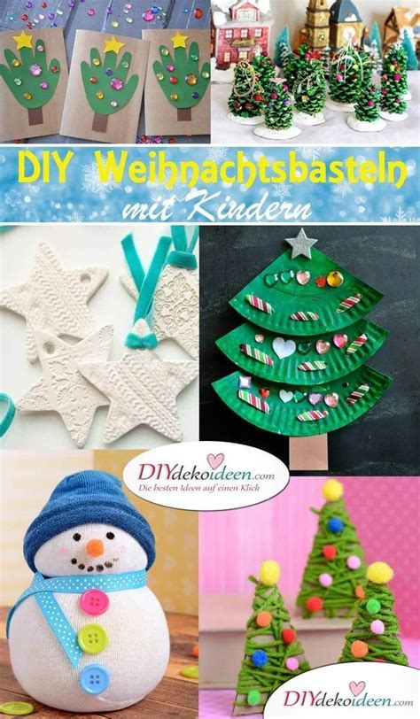 diy mit kindern kreative diy bastelideen f 252 r weihnachtsbasteln mit kindern