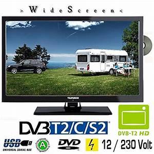 12v Fernseher Für Wohnmobil : telefunken t22x740 mobil led tv 22 zoll dvb s s2 t2 c dvd ~ Kayakingforconservation.com Haus und Dekorationen