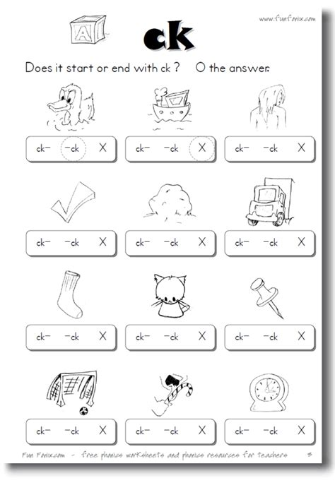printable phonics workbook and printable worksheets on ch