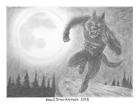 special werewolf drawing pencils