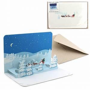 Pop Up Karte : pop up karte weihnachtslandschaft ~ Markanthonyermac.com Haus und Dekorationen