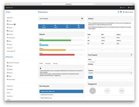 free admin template 34 free bootstrap admin dashboard templates 2018 colorlib