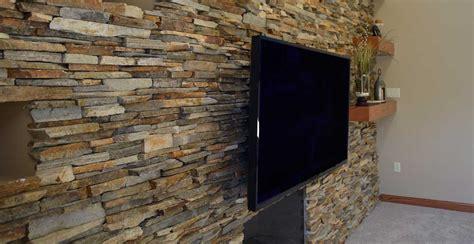 ledgestone fireplace surround interior stone veneer mantel
