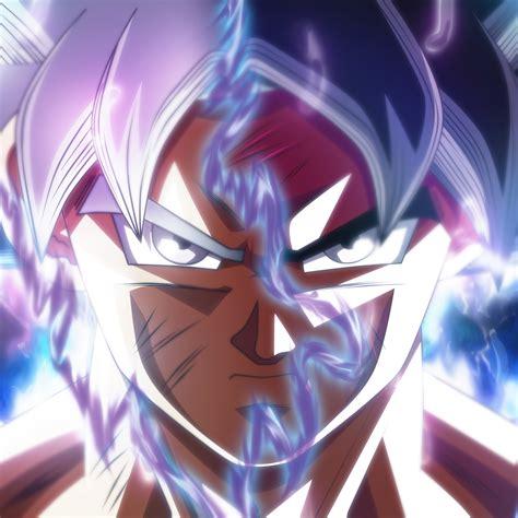 2048x2048 Goku Ultra Instinct Transformation Ipad Air Hd