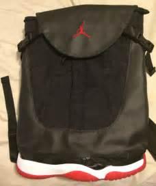 Air Jordan Bred 11 Backpack
