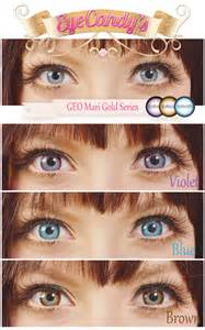 Gold Color Eyes Contact Lenses