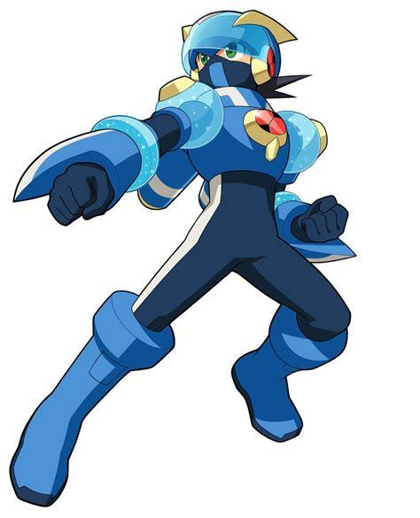 Aqua Cross Characters And Art Mega Man Battle Network 6