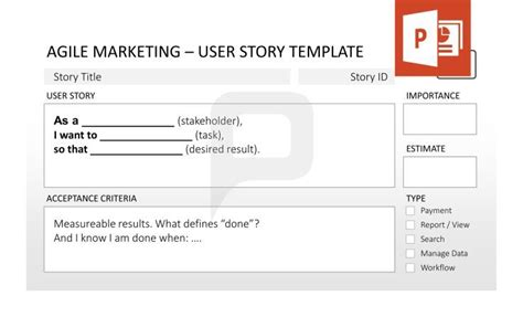agile user story template 1000 images about agile management powerpoint templates on templates for