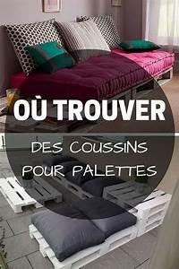 Coussin Banquette Palette : les 25 meilleures id es de la cat gorie coussin pour palette sur pinterest futon palette ~ Teatrodelosmanantiales.com Idées de Décoration