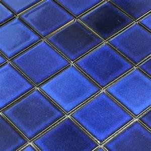 Mosaik Fliesen Blau : keramik mosaik fliesenspiegel blau uni tm33056m ~ Michelbontemps.com Haus und Dekorationen