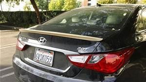 Hyundai Sonata Carbon Fiber Trunk Spoiler 2011