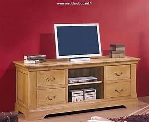 Meuble Tv Rustique : meuble tv meuble t l en bois meuble t l vision en bois massif rustique ~ Teatrodelosmanantiales.com Idées de Décoration