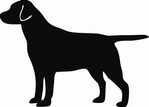 hunting dog silhouette vector clipart free - Clipground