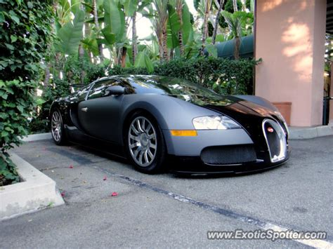 Bugatti Veyron Spotted In Beverly Hills, California On 10