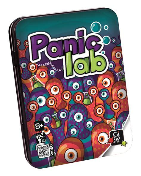 Panic lab - Jeu de société d'ambiance - Gigamic