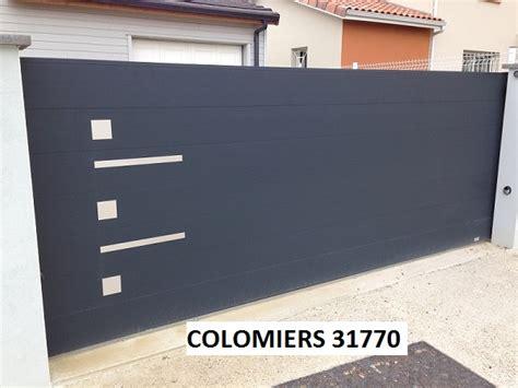 Portail Coulissant Aluminium Au Design Original