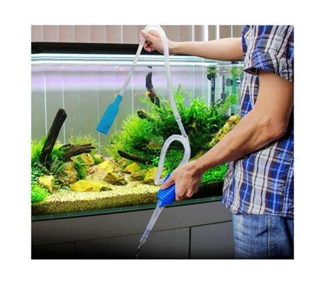 pompe 224 vide manuelle pour un aquarium propre