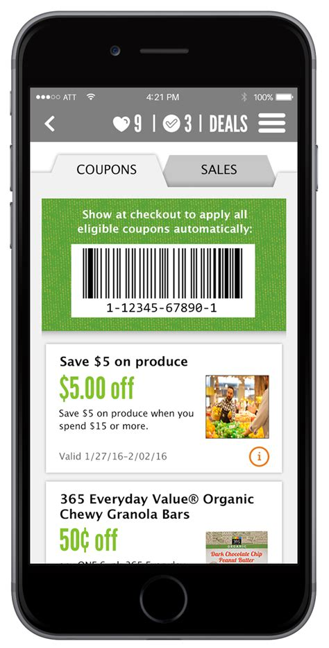 free food apps for iphone digital coupon faq the whole foods market 174 app whole