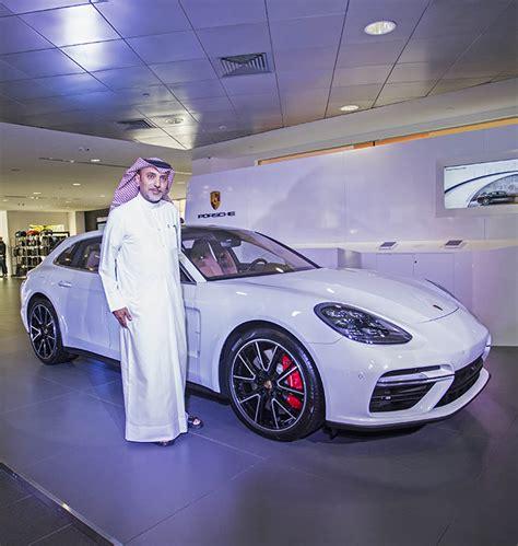 porsche panamera turbo sport turismo debuts  qatar