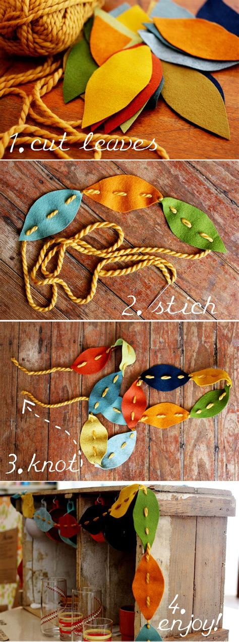 diy fall leaf craft ideas  designs