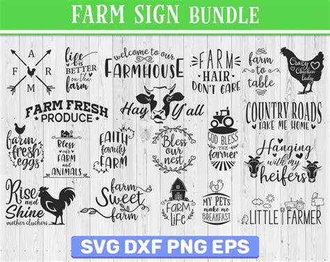 Animal   free svg image in public domain. 20 Farm sign quotes bundle Quote sign svg farm quote png ...