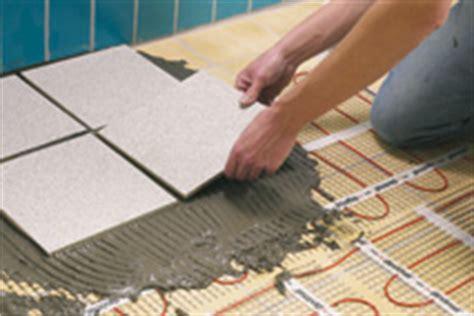 chauffage au sol carrelage installer un chauffage au sol 233 lectrique conseils et astuces bricolage d 233 coration maison