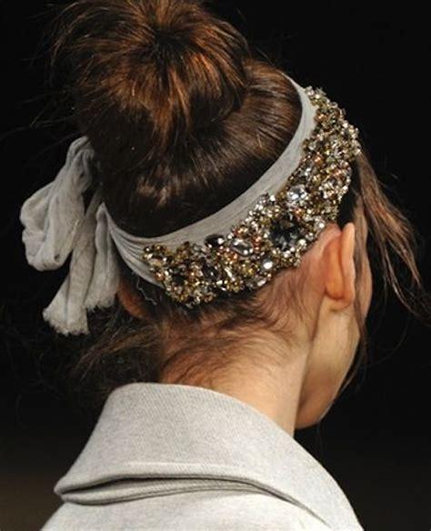 ways   diy jeweled headbands pretty designs