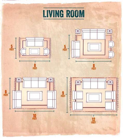 choose area rug sizes   home  decor