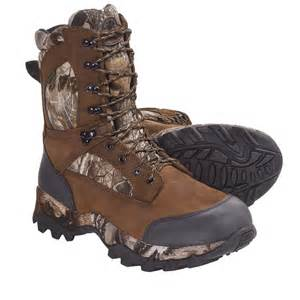 Camo Insulated Hunting Boots