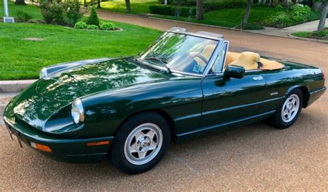 1993 Alfa Romeo Spider by 1993 Alfa Romeo Spider Quot One Family Owned Quot Only 46k