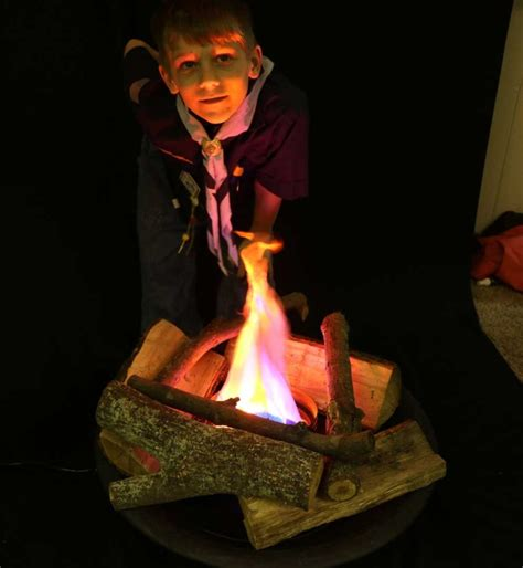 campfire kit fake fire effect bundled kit realistic