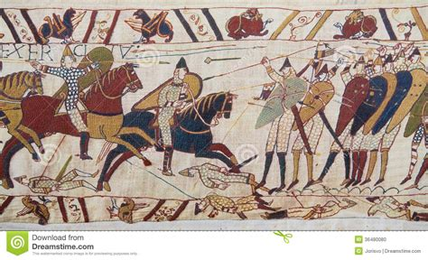 Tappezzeria Di Bayeux Tappezzeria Di Bayeux Fotografia Stock Immagine Di