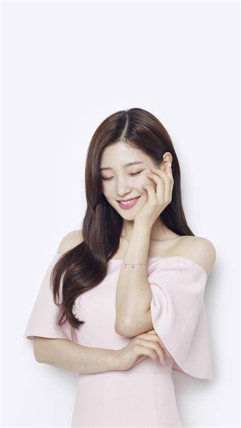 hn pink cute girl kpop ioi wallpaper