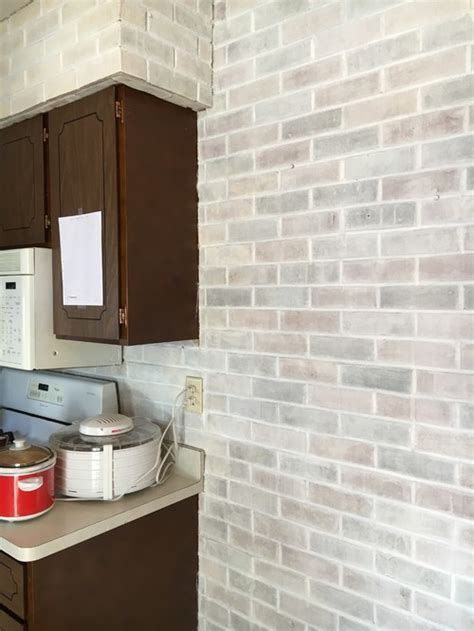 how to wash colors whitewash brick and kitchen colors