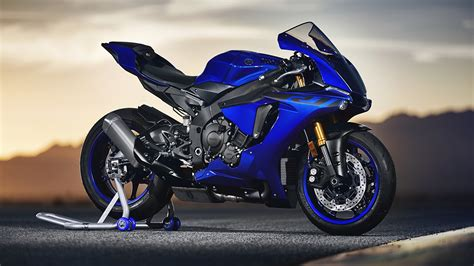 Yamaha R1 Hd Photo by Picture Yamaha Yzf R1 2018 Blue Motorcycles 1920x1080