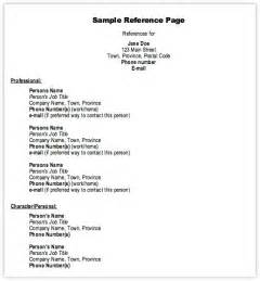 resume references template resume reference template resume references template