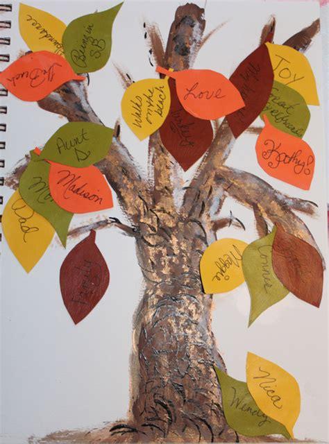 life journal workshop create  gratitude tree
