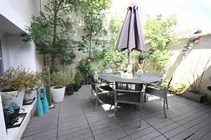 deco terrasse grise With comment realiser un jardin zen 13 terrasse en bois ou composite idees merveilleuses pour l