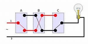 3er Steckdose Anschließen : kreuzschaltung wikipedia ~ Markanthonyermac.com Haus und Dekorationen