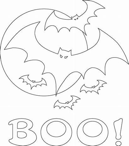 Halloween Coloring Bat Colorir Bats Morcego Desenhos