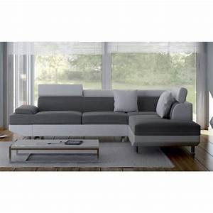 canape d angle convertible simili cuir canap d 39 angle r With tapis exterieur avec canapé droit 4 places simili cuir