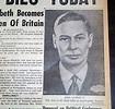 Death Of King George VI In 1952... - RareNewspapers.com