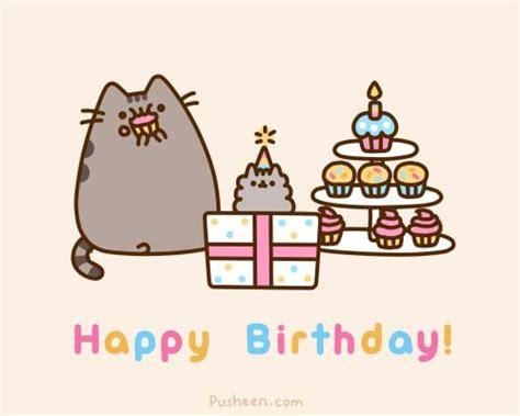 pusheen cat birthday happy birthday to pusheen s